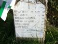 Cippo 6 morti catturati al casotto dei Pescatori (o delle Pompe)