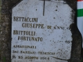Cippo Brittoli-Bettaccini lungo la via delle Morette