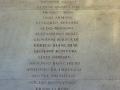 Lapide con i nomi dei caduti dell'Università di Padova