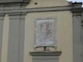 Lapide sulla chiesa di S. Maria