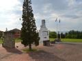 Il Monumento in ricordo delle vittime a Larciano