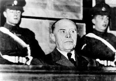 Albert Kesselring durante il processo di Venezia