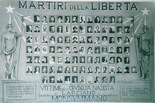 Quadro commemorativo anni '40